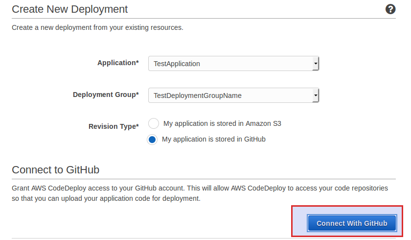 CommsCentral - Tech Journal - AWS CodeDeploy with GitHub auto